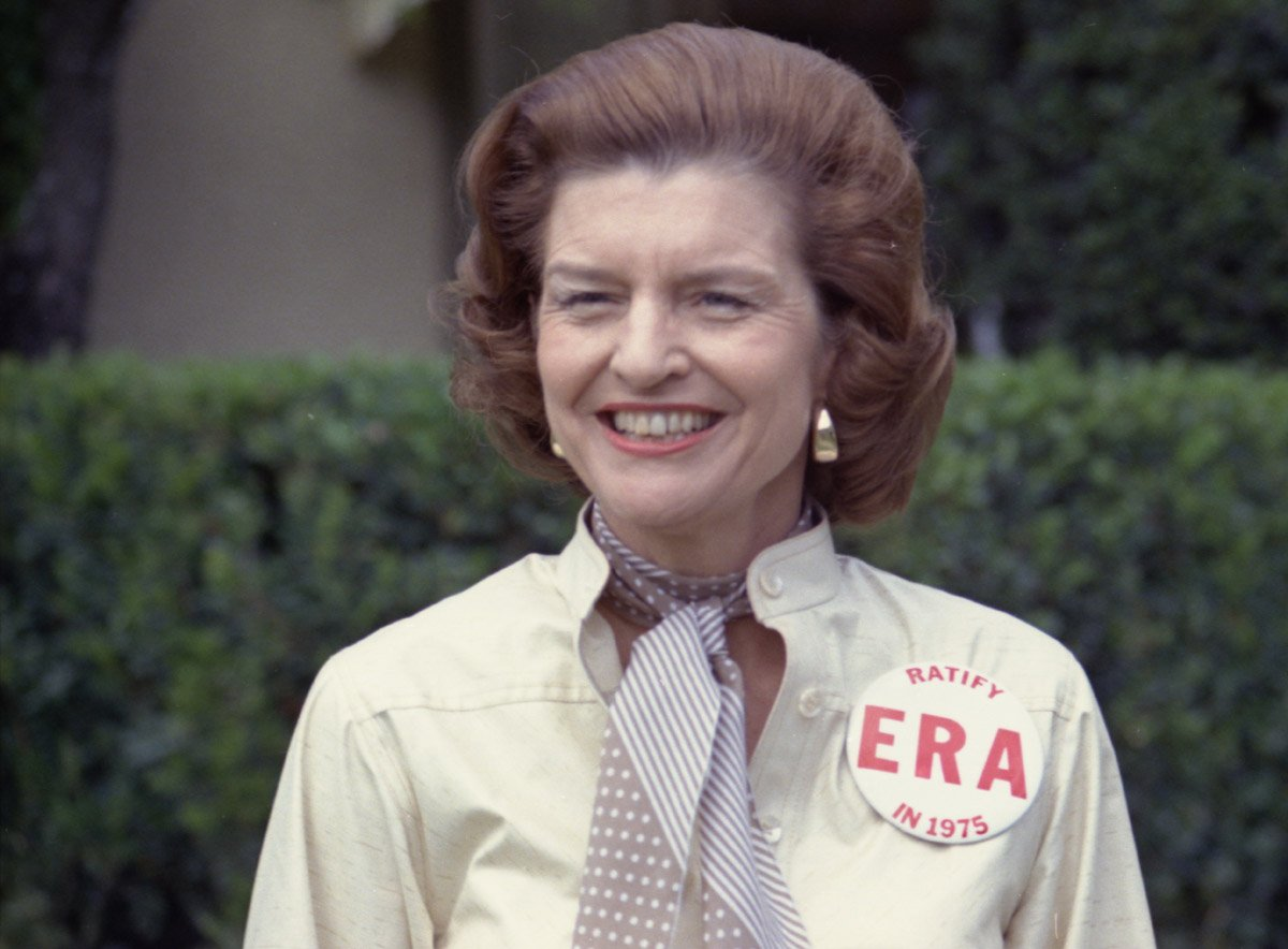 Betty Ford Remembered For Her Addiction Recovery And Courage