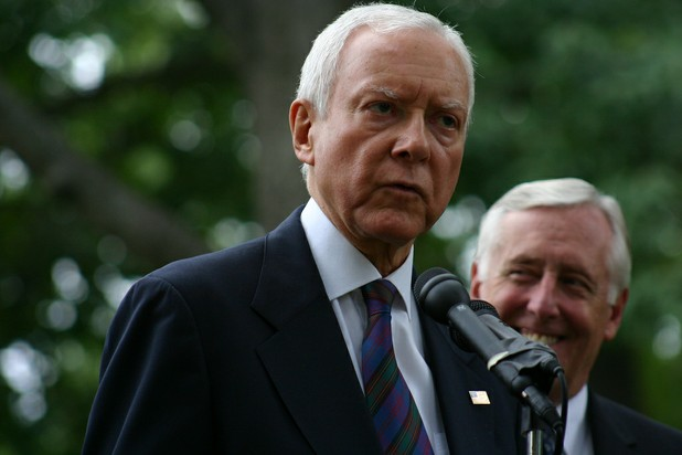 Orin Hatch Calls for Drug Tests for Those Receiving Government Benefits