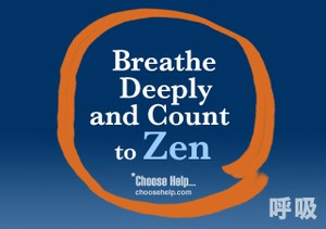 Breathe Deeply and Count to Zen