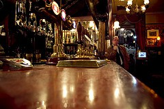 British Chancelor of the Exchequer, Alistar Darling, Banned From UK Pubs.