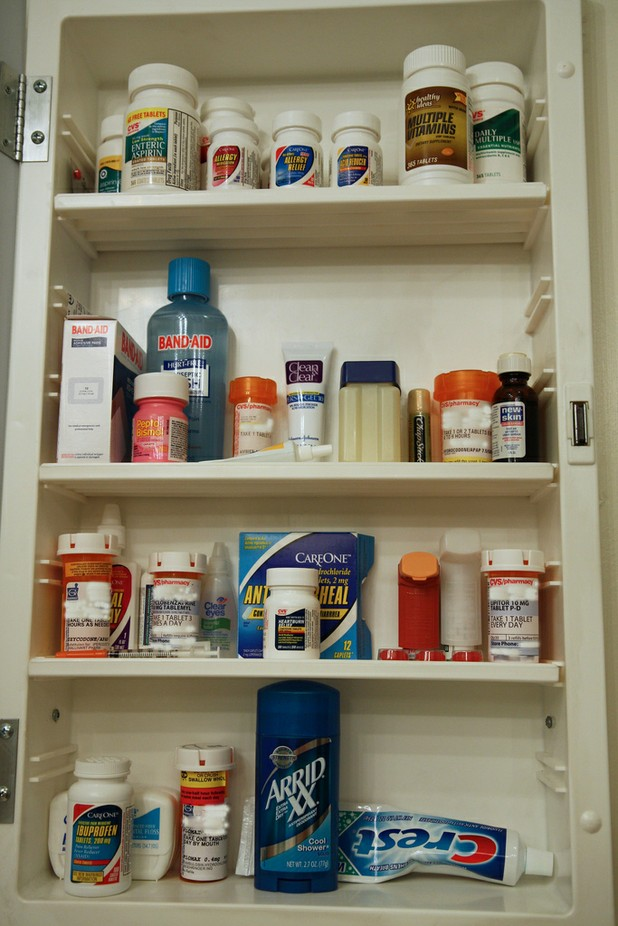 Dangers of the Family Medicine Cabinet