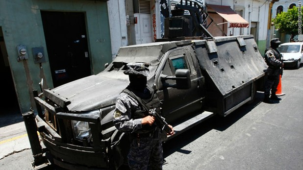 Mexican Cartels Build Narco Tank
