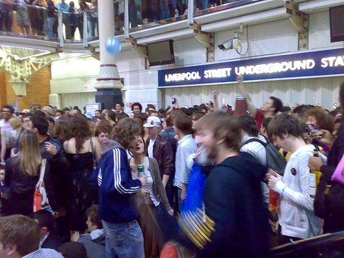 "Drunken ""Booze Ban"" Party in London Subway Causes 50 Assaults and 17 Arrests"