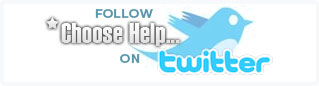 Follow Choosehelp.com on Twitter